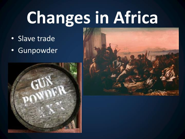 Changes in Africa