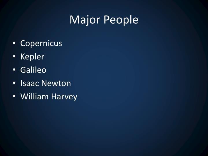 Major People