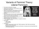 variants of feminist theory liberal feminism