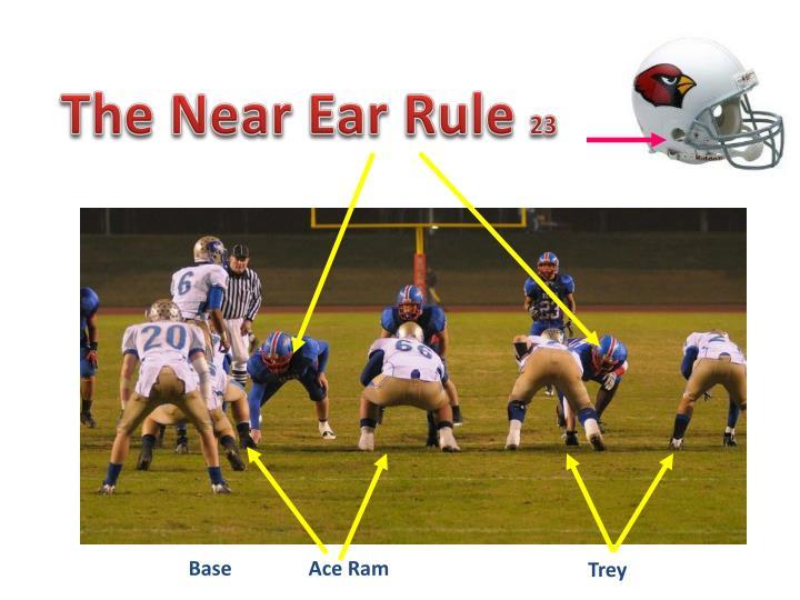 The Near Ear Rule