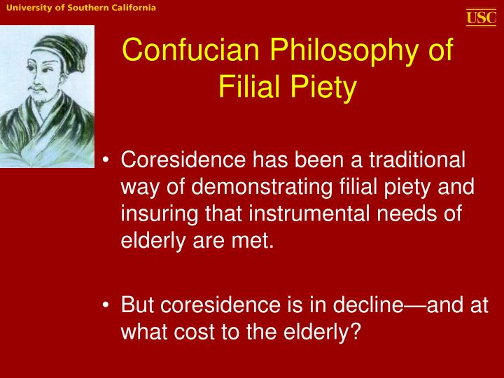 Confucian Philosophy of Filial Piety