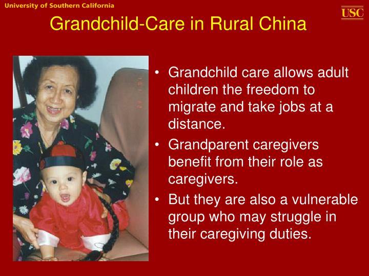 Grandchild-Care in Rural China