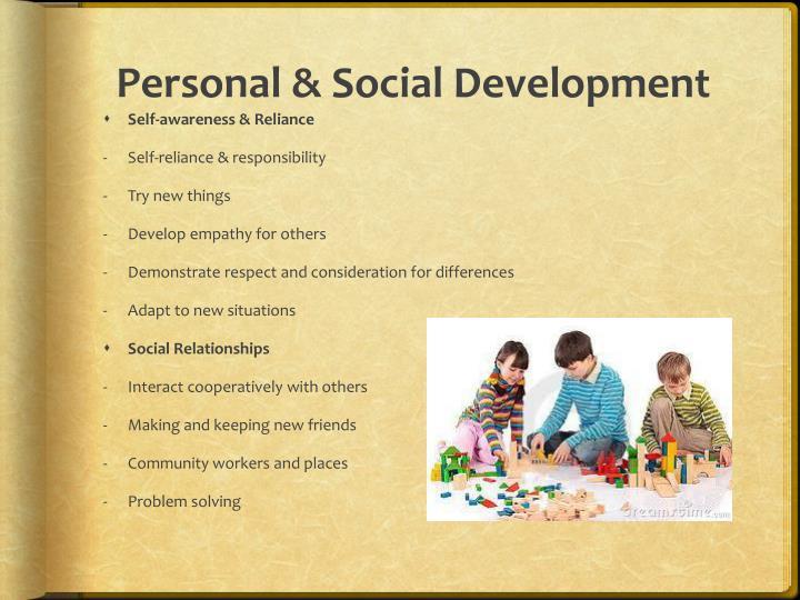 Personal & Social Development