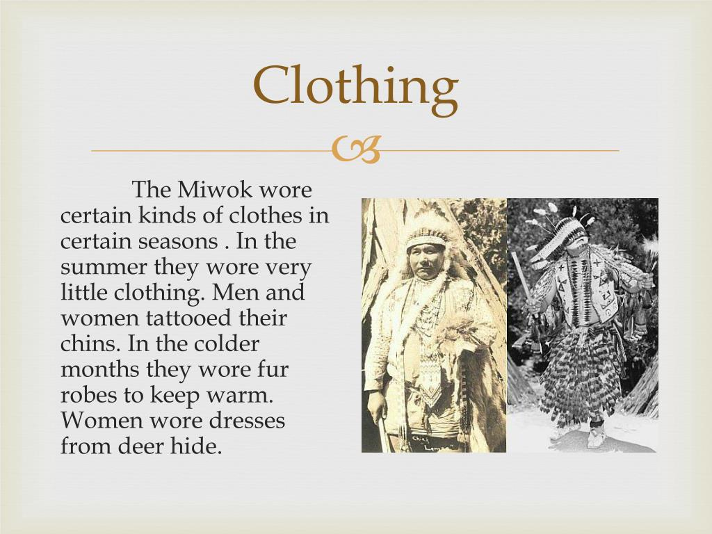 Ppt The Miwok Powerpoint Presentation Id1843043