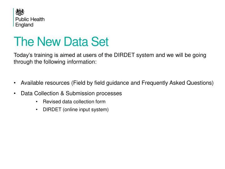 The new data set