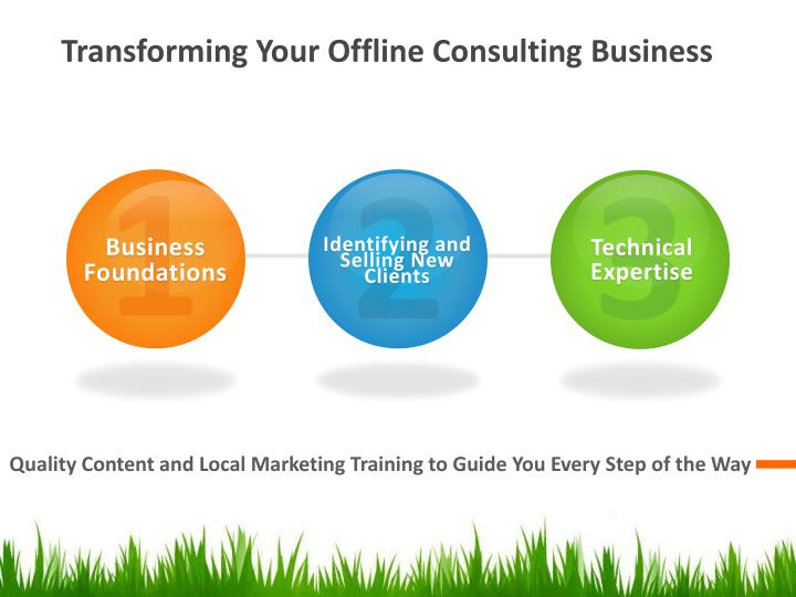 Transforming Your Offline Consulting Business