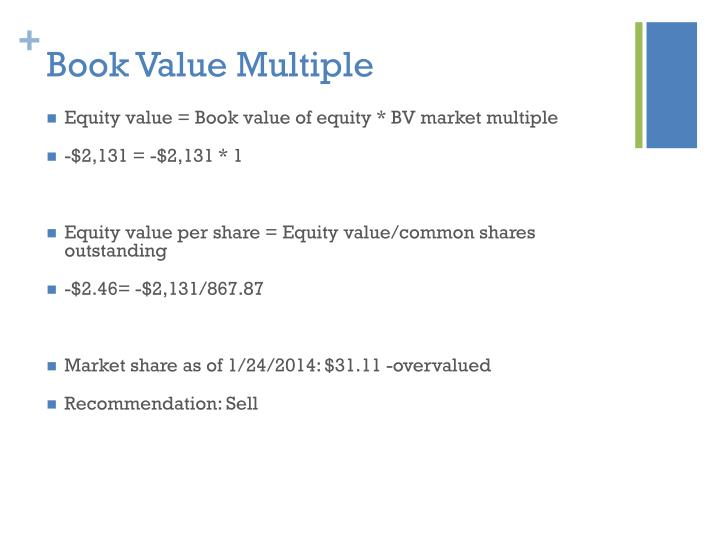 Book Value Multiple