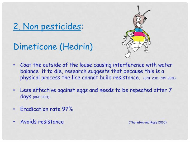2. Non pesticides