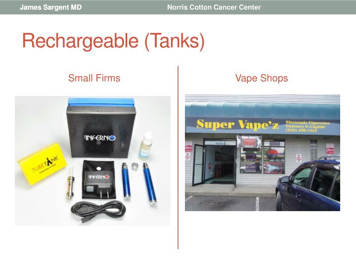 Rechargeable (Tanks)