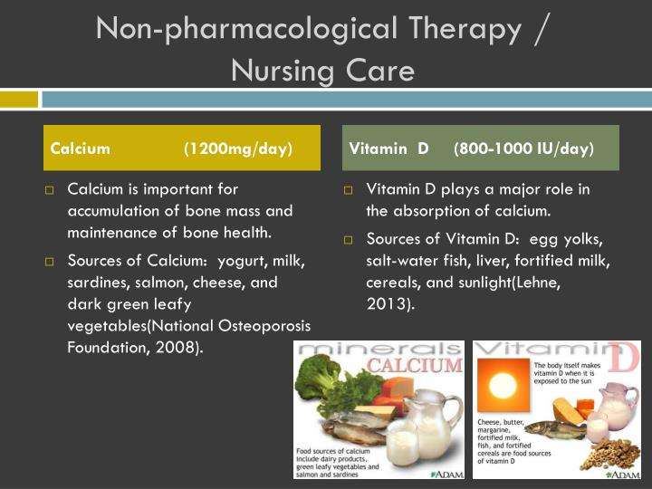 Non-pharmacological Therapy / Nursing Care