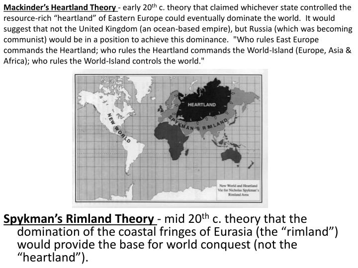 Mackinder's Heartland Theory