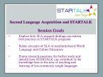 second language acquisition and startalk1