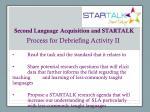 second language acquisition and startalk4