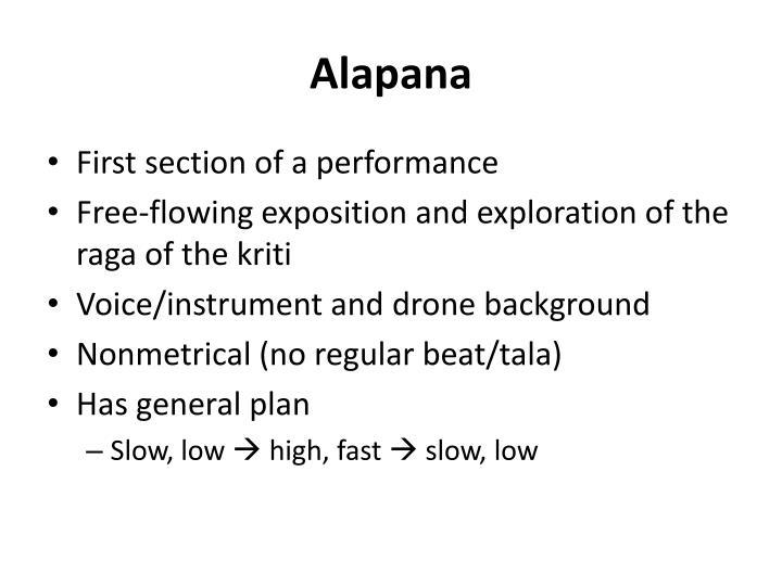 Alapana