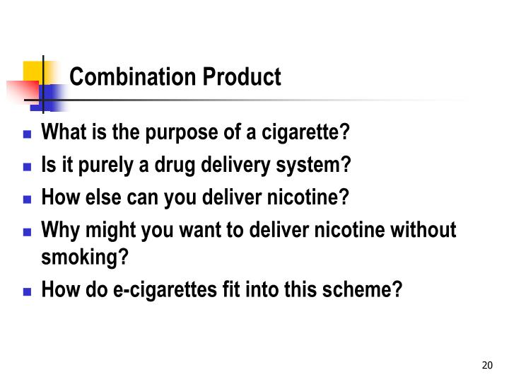 Combination Product