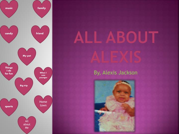 all about alexis n.