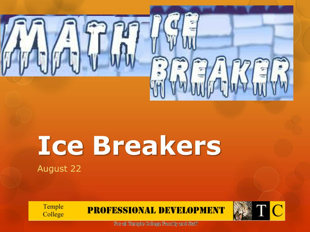 Ppt Ice Breakers Powerpoint Presentation Id1845460 Circuit Breaker Types Video Different Of Ehow N