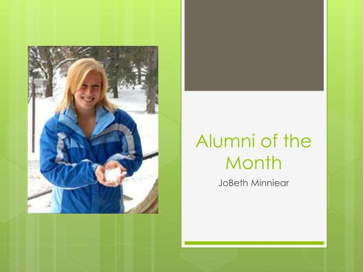 alumni of the month n.