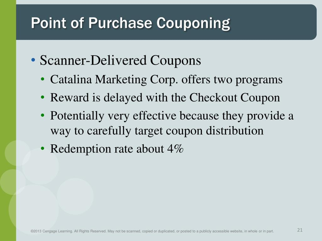 Ppt Consumer Sales Promotion Sampling And Couponing Powerpoint Presentation Id 1845629
