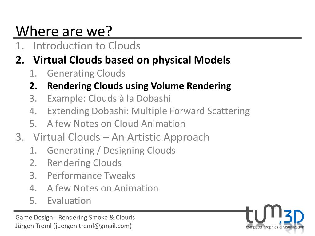PPT - Rendering Smoke & Clouds PowerPoint Presentation - ID