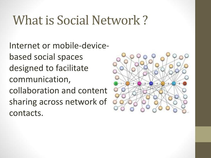 What is social network