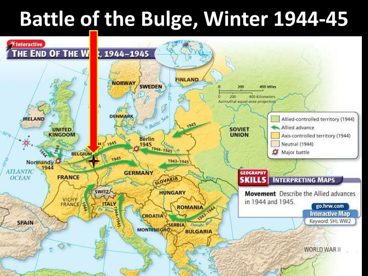 an examination of the battle of the bulge An examination of the tactics used by the germans during the battle of the bulge of ww2 and how it lead to them into losing this battle.