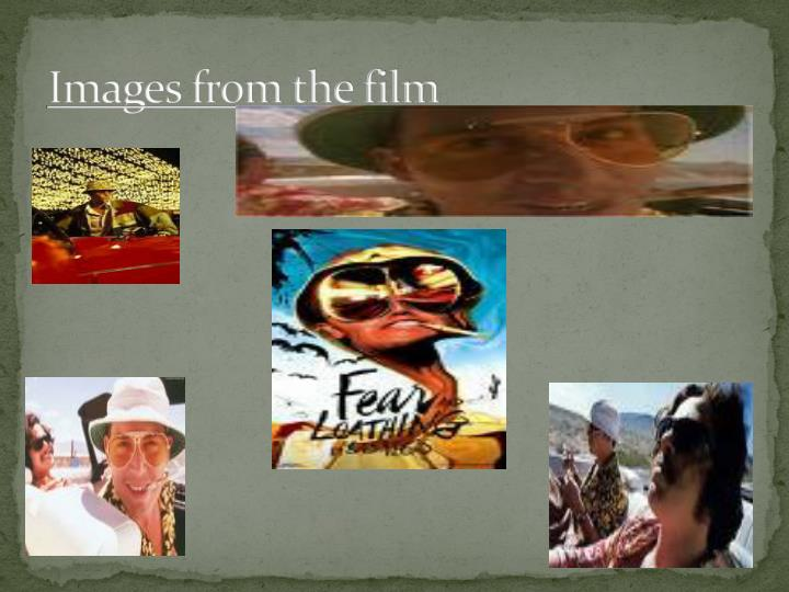 Images from the film