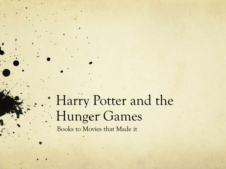 harry potter and the hunger games n.