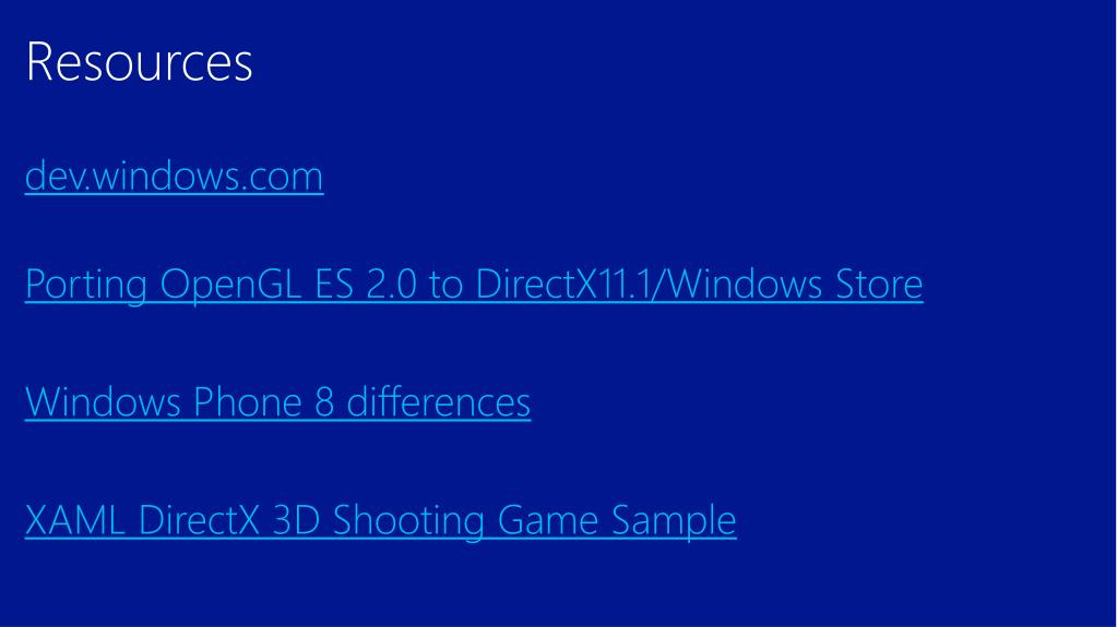 PPT - From Android or iOS: Bringing your OpenGL ES game to the