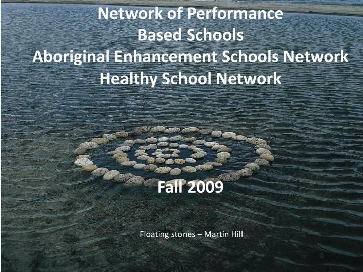 Network of Performance