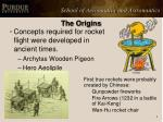 the origins
