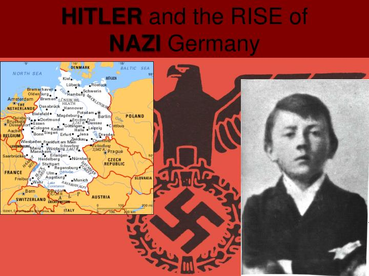 birth of nazism Adolf hitler was an austrian-born german politician and the leader of the nazi party he was chancellor of germany from 1933 to 1945 and dictator of nazi germany from 1934 to 1945 hitler was at the centre of nazi germany, world war ii in europe, and the holocaust.