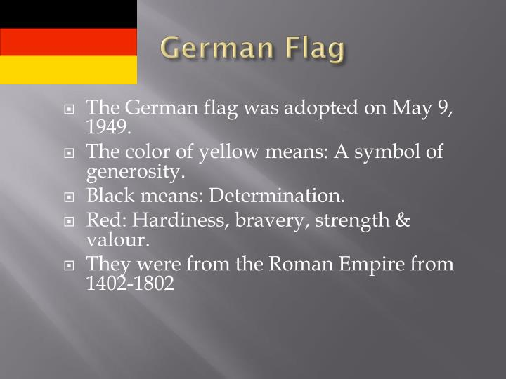 Ppt German Symbols Powerpoint Presentation Id1846902