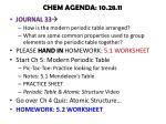 chem agenda 10 28 11