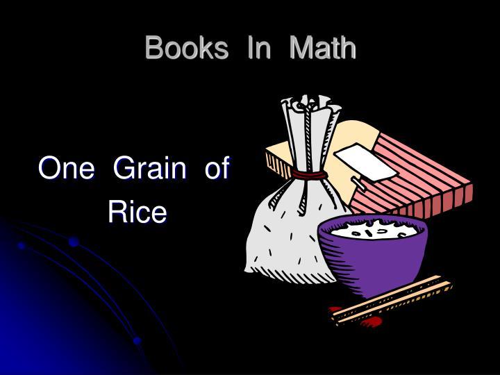 Books  In  Math