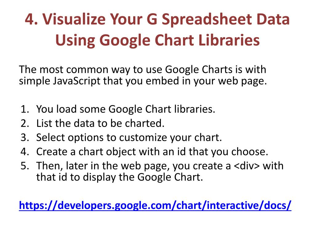 PPT - Quick & Easy Data Visualization with Google