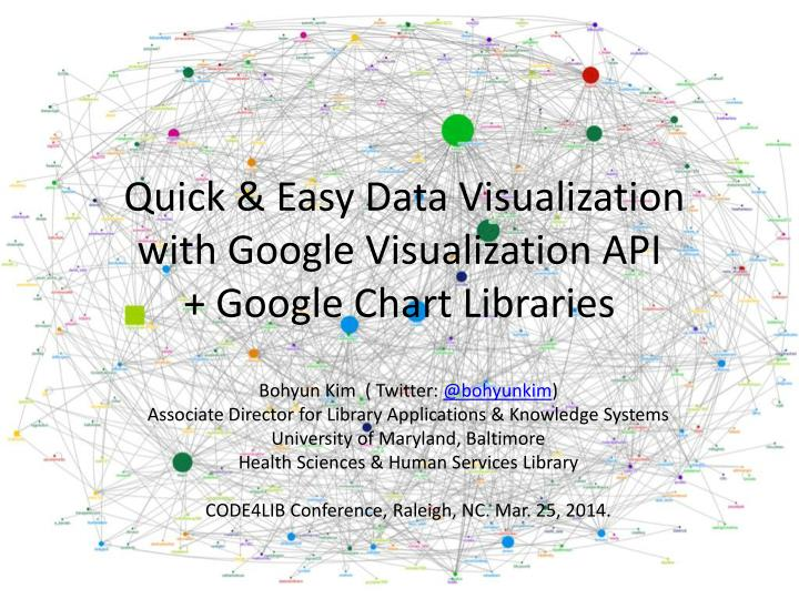 quick easy data visualization with google visualization api google chart libraries n.