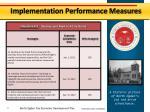 implementation performance measures2