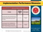 implementation performance measures3