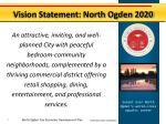 vision statement north ogden 2020
