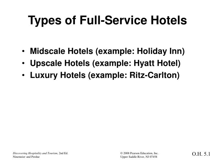 PPT - Types of Full-Service Hotels PowerPoint Presentation