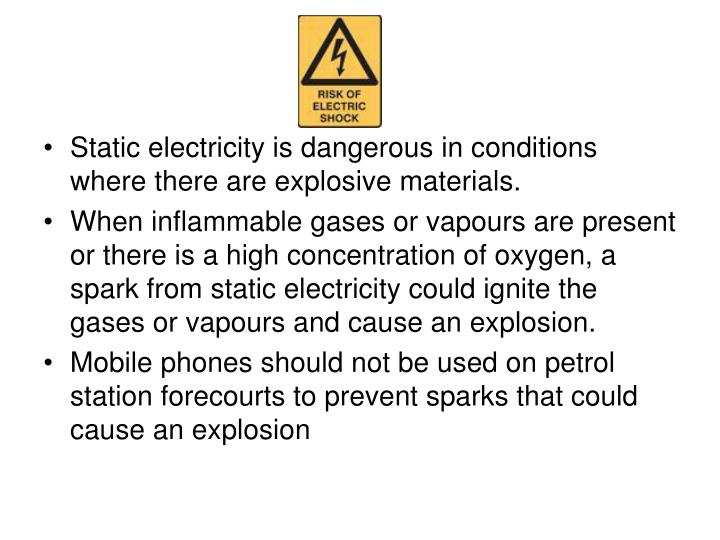 how to prevent shocks from static electricity