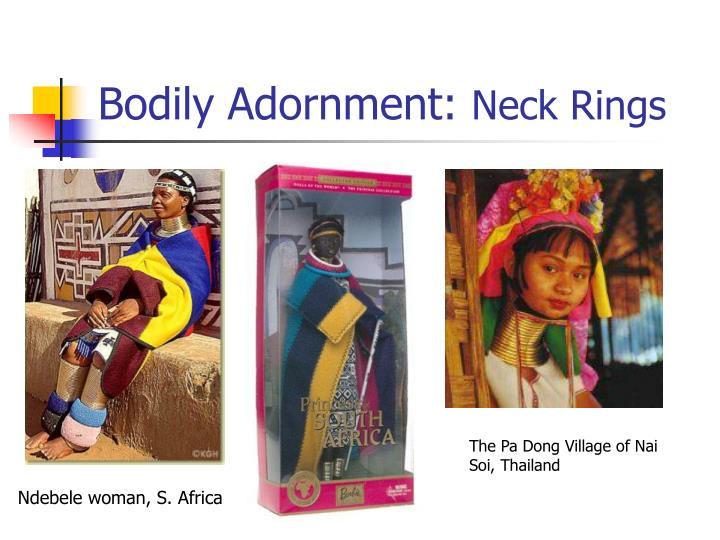Bodily Adornment: