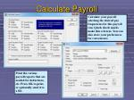 calculate payroll