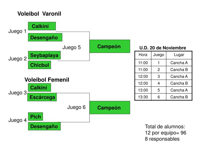 Voleibol  Varonil