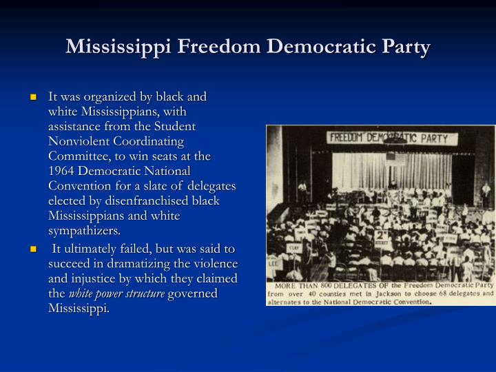 Mississippi Freedom Democratic Party