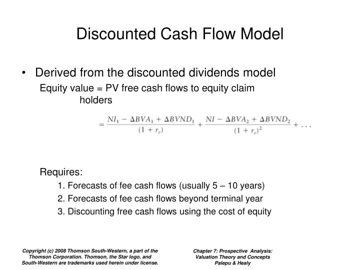 Discounted Cash Flow Model