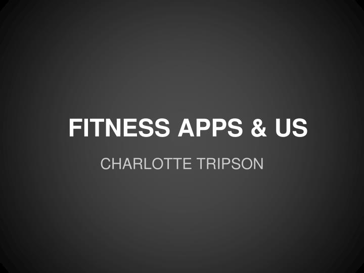 Fitness apps us
