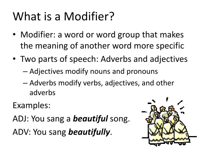 Ppt Using Modifiers Correctly Powerpoint Presentation Id1847990