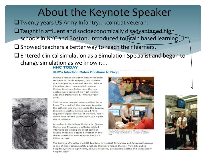About the keynote speaker